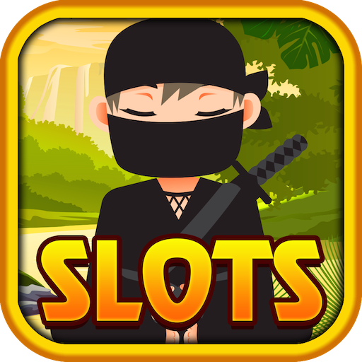 Slots Top Ninja Jackpots Casino Spiele - Spielautomaten für Android & Kindle Fire Kostenlose Ninja-schlag-haus