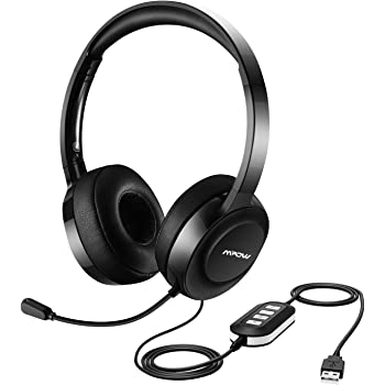 Mpow Pc Headset Usb Headset 3 5mm Computer Headset Amazon Co Uk