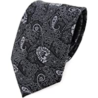 TigerTie Designer Cravatta con motivo paisley – Cravatta dal taglio classico