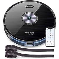 Muzili Saugroboter Wlan 2200PA Staubsauger Roboter mit Wischfunktion,App Fernbedienung & Kompatibel mit Alexa…