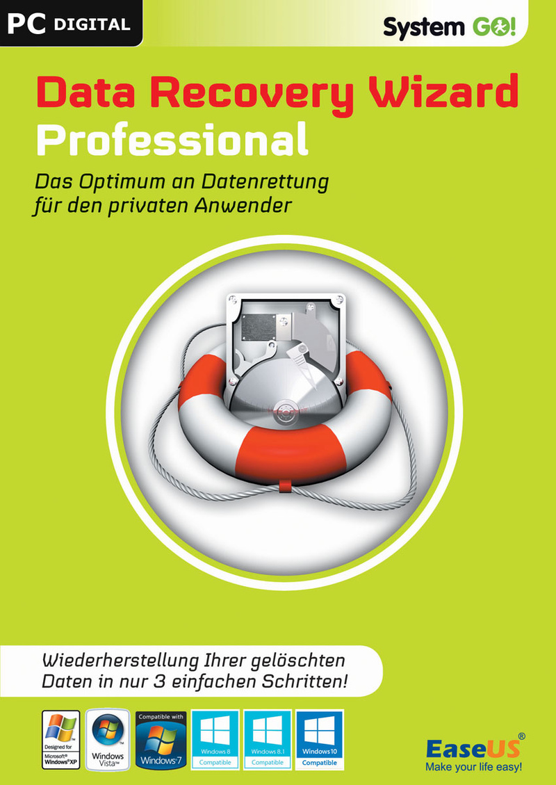 EaseUS System GO! DataRecovery Wizard Professional [Download]