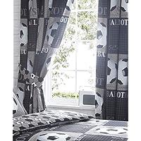 Portfolio Paire de Rideaux entièrement doublés prêts à l'emploi, Polyester 50% Coton, 66x54