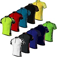Didoo Cycling Jersey mens Short Sleeve Lightweight Breathable Mountain Bike Racing Sublimation Summer Half Sleeve