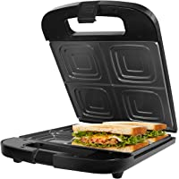 Gotoll Appareil à Sandwich 4 Tranches XXL Toaster Croques Monsieur Sandwich Maker 1400W Machine Panini Grill Plaque…