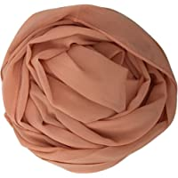 Ladies Plain Chiffon Scarf Women Large Maxi Hijab Shawl Head Piece