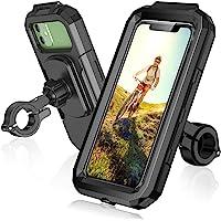 ENONEO Support Téléphone Moto étanche Rotation à 360 Anti-Vibrations Support Téléphone Vélo avec Écran Tactile Sensible…