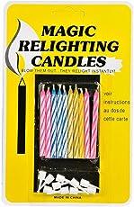Magic Relighting Birthday Candles