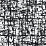 Jersey Stoff Striche grafisch weiß schwarz