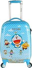 Handcuffs Polycarbonate Children's Trolley Bag(Blue)