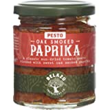 The Fresh Olive Company Oak Smoked Paprika and Tomato Pesto, 165 g, Pack of 6