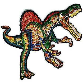 Dinosaurier Cartoon bestickt Nähen Eisen auf Patch Cartoon Nähen ...