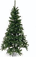 Galileo Casa Xmas Albero Natale h180, PVC, Verde, 90x90x180 cm