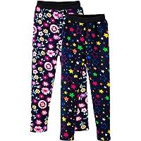 LSHEL Bambini Ragazze Leggings in Foderati Pantaloni Invernali Lunghi Spessi Stretch Pantalone