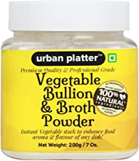 Urban Platter Vegetable Bouillon and Broth Powder, 200g
