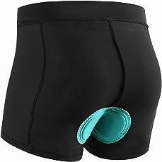 INBIKE Radlerhose Damen Kurz Atmungsaktive Schnelltrockende Radunterhose mit 3D Sitzpolster für Downhill MTB Reiten Radsport