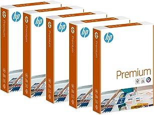 Hewlett-Packard CHP 852 Premium Druckerpapier 90 g DIN-A4, 210 x 297 mm, hochweiß, extraglatt 5 Pack = 1 Karton