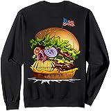Skull Hamburger Sweatshirt