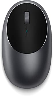 Satechi Aluminum M1 Bluetooth Wireless Mouse with Rechargeable Type-C Port - Compatible with Mac Mini, iMac, iMac Pro, MacBoo