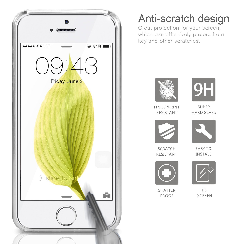 COVER PER IPHONE 5S / 5 / Se Apple Trasparente Morbida Custodia