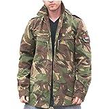 Dutch Army Genuine Holland Issue Military Field Shirt Jacket in Tarn Camo GRADE1