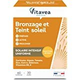 Vitavea - Optima Solaire Bronzage Et Teint Soleil - Prépare, Active, Prolonge le Bronzage - 60 Capsules - Fabriqué en France