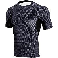 FRAUIT Running Uomo Estivo Maglietta Uomo Manica Corta T Shirt Uomini Divertenti Strane Camicie Maglia Compression…