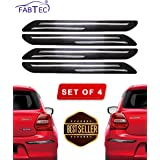 Fabtec Universal Car Bumper Protector Guard (Set of 4)