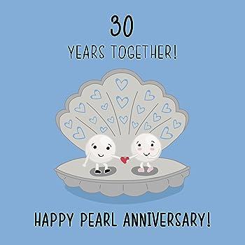 Prelude 30th Anniversary Card ~ Congratulations To A Special