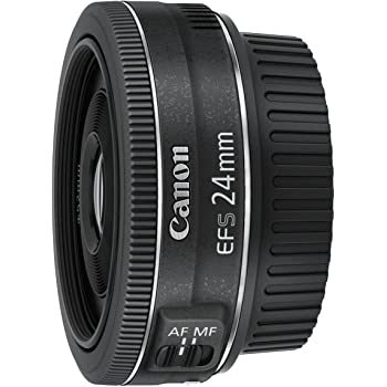 Canon EF-S 24 mm 1:2.8 STM Objektiv schwarz