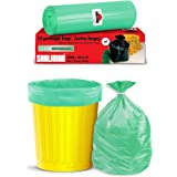 Shalimar Premium OXO - Biodegradable Garbage Bags 30 x 37 Inches (Extra Large) 60 Bags (4 rolls) Dustbin Bag/Trash Bag - Gree