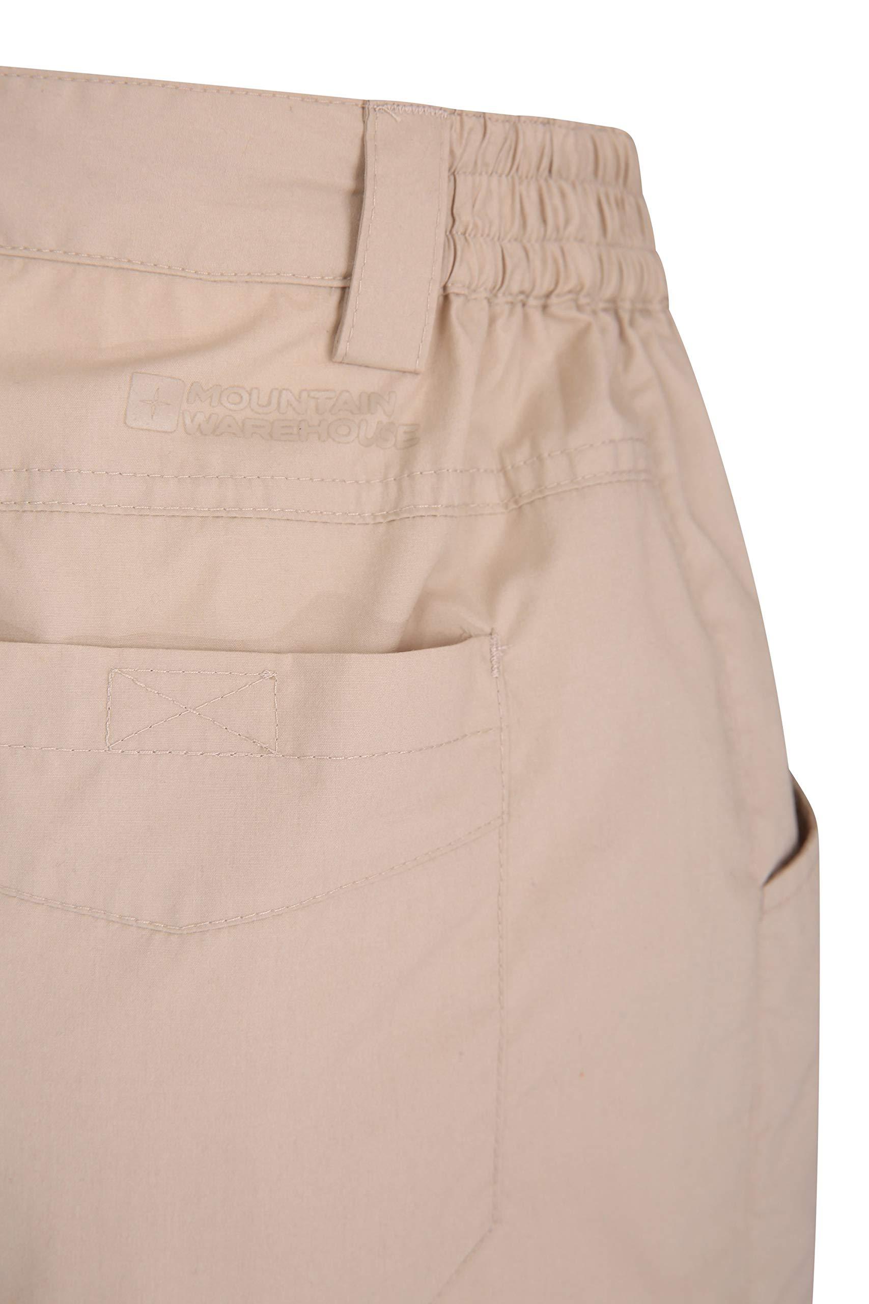 Mountain Warehouse Quest Womens Shorts – 100% Cotton Pants, Lightweight Ladies Short Trousers, Multiple Pockets – Best…