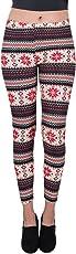 Aerusi Leggings for Women and Girls, Printed Fashion Tight Leggings