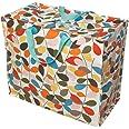 Riesentragetasche mit Blumenmuster–verschiedene Designs, plastik, Rot, Jumbo