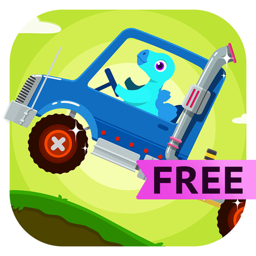 Dinosaur Truck - Monster Truck Driving & Simulator Games For Kids Free