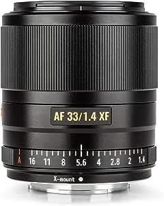 Viltrox Af 33mm F1 4 Stm Xf Objektiv Mit Festem Fokus Kamera