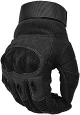 Cotop Motorrad Handschuhe, Touch Screen Hard Knuckle Handschuhe Motorrad Handschuhe Motorrad ATV Reiten Full Fing, 6 Monate Kostenloser Ersatz für Qualitätsprobleme