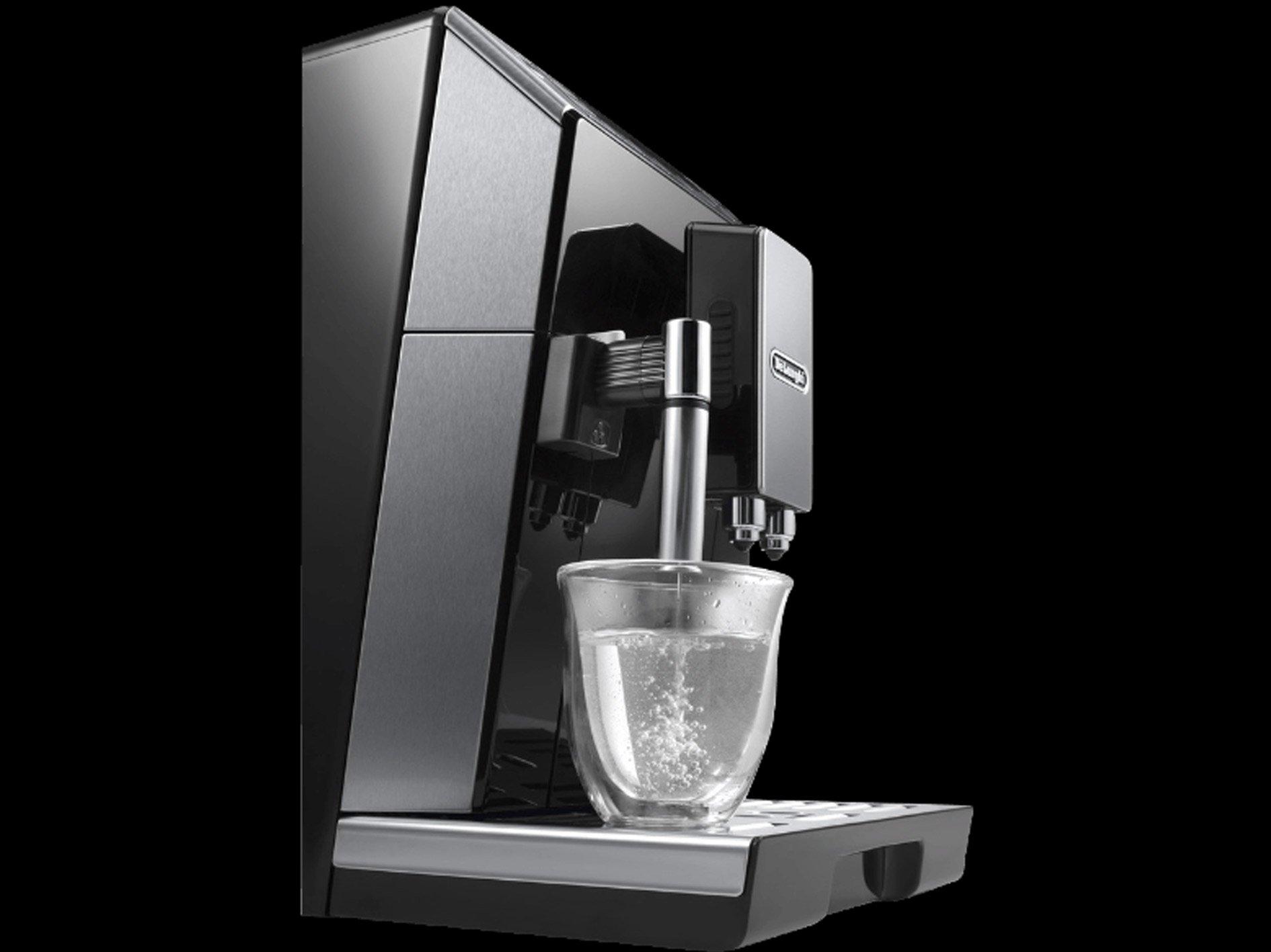 DeLonghi-ECAM-45766W-Kaffeevollautomat-Eletta-Cappuccino-mit-Latte-Crema-Milchaufschumsystem
