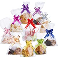 100PCS Clear Cellophane Treat Bags 6