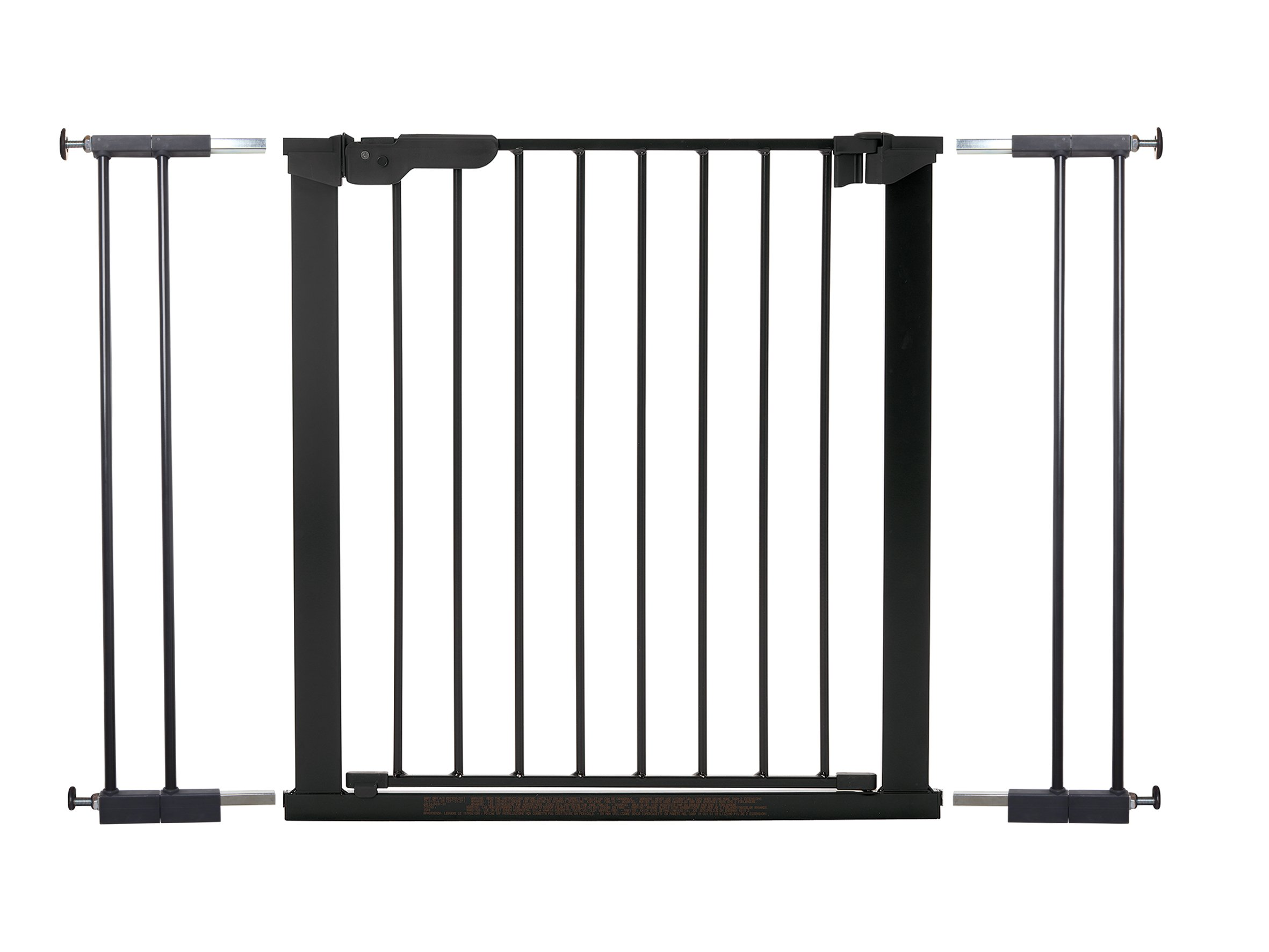 BabyDan Extra Wide Pressure Gate  Extra Wide Pressure Fit Safety Gate ideal for wider openings 99-106.3cm Fits straight from the box No Drilling or screwing required Pressure indicator shows when gate is correctly fitted 1