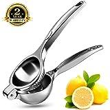 Wilbest Zitronenpresse Saftpresse Limette Zitrusfrucht Handpresse Entsafter Zitruspresse, Anti-Ätzmittel, Spülmaschinenfest, schweres design, robust und langlebig