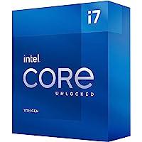 Intel Core i7-11700K Desktop Prozessor 8 Kerne bis zu 5,0 GHz entsperrt LGA1200 (Intel 500 Series & Select 400 Series…