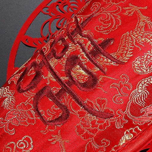 Y&HUNTUO Pantofole da sposa / ciabattine in cotone per la casa / uomini e donne regali di nozze / articoli per feste 42-43