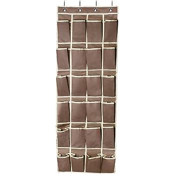 famlove h ngeorganizer t r schuhe organizer shoe storage rack 24 taschen 600d oxford. Black Bedroom Furniture Sets. Home Design Ideas