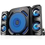 DETEL Bluetooth Home Theatre Speaker  Black, 2.1 Channel   Roar