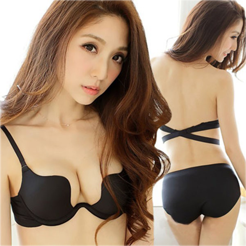 Belazo Women Bra Deep U Low Cut Push Up Bra Top Design Invisible ... 65ed701df