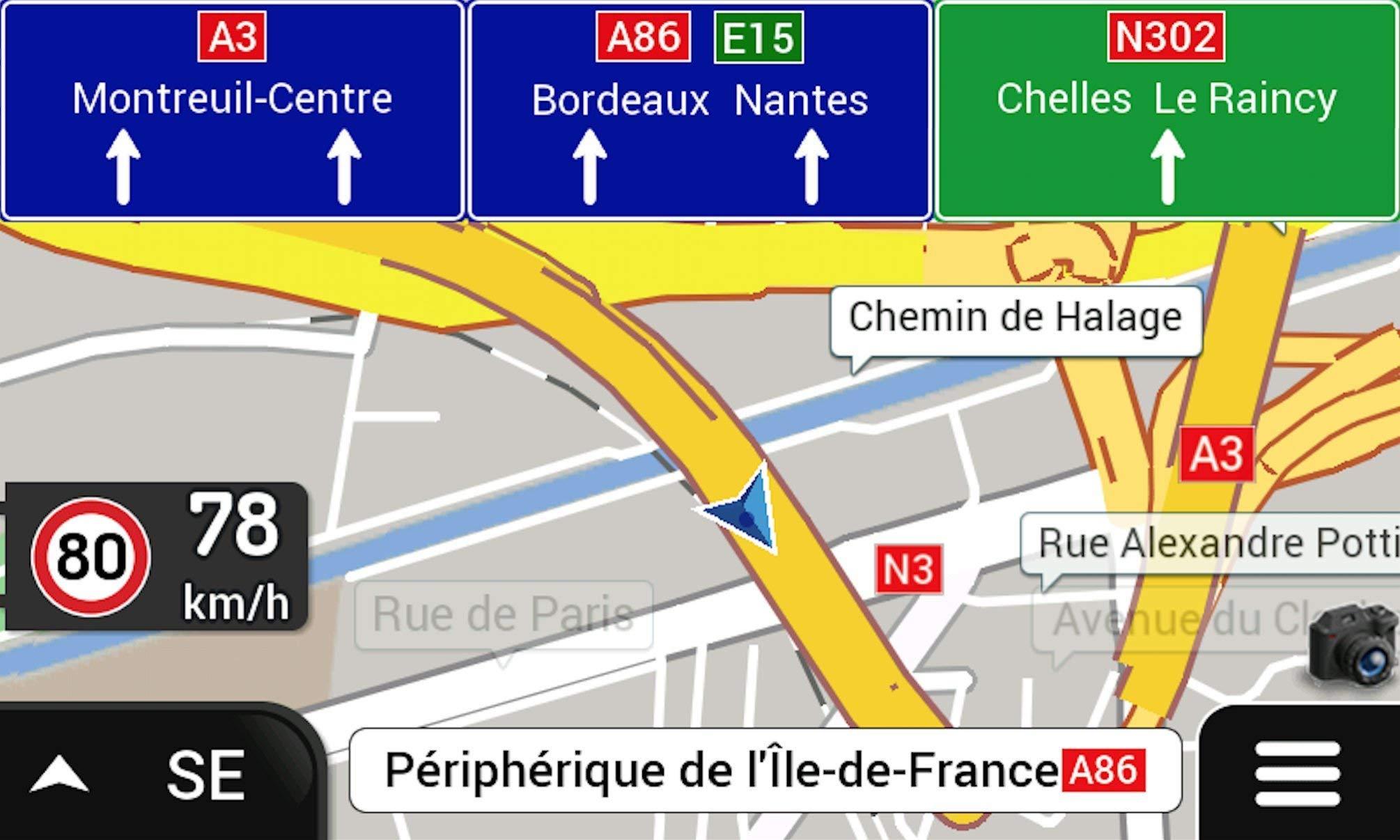 GPS-7-ZOLL-Navigationsgert-Fr-LKWPKWBUSCamperRadarwarnerBluetoothAV-INStau-MeldenTMC