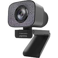 Webcam mit Doppelmikrofon 2K HDR, papalook PA930 Live-Streaming-Webcam 1080P 60FPS, StreamCam mit Festem Fokus…