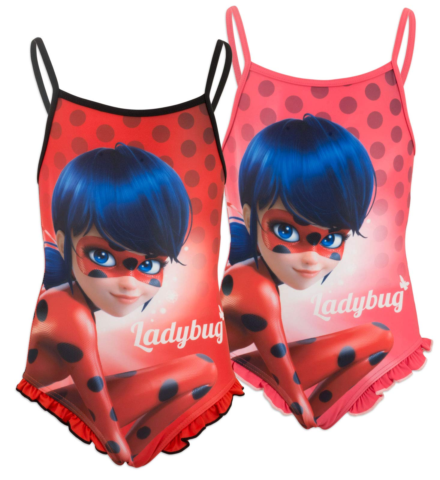 Miraculous T-Shirt Originale Ladybug Ufficiale Fucsia Bambina