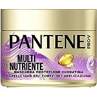 Pantene Pro-V Maschera Multi-Nutriente, Protezione Cheratina, Per Capelli Deboli E Danneggiati - 300 Gr