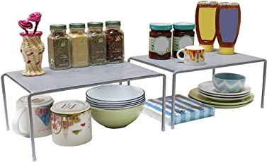 Callas Stackable Kitchen Cabinet and Counter Shelf Organizer, CA91AB